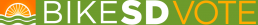 BikeSD-Vote Logo
