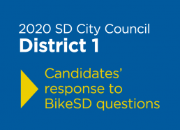 2020 SD City Council Candidate Responses - District 1