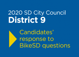 2020 SD City Council Candidate Responses - District 9
