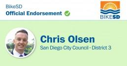 District 3, 2020 primary: Chris Olsen