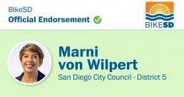 ENDORSED District 5, 2020 primary: Marni von Wilpert