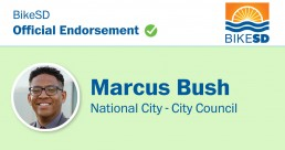 ENDORSED: Marcus Bush for National City City Council, 2020